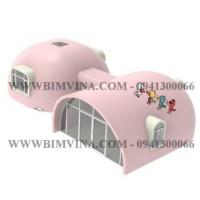 xây dựng nhà lắp ghép composite