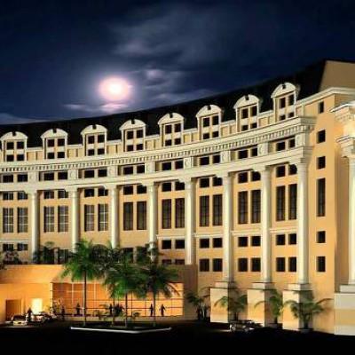 Kiến trúc khách sạn sang trọng