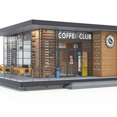 THIẾT KẾ THI CÔNG QUÁN CAFE SÂN VƯỜN