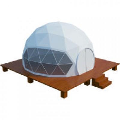 Nhà Dome  tròn 360